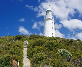 Cape Bruny light