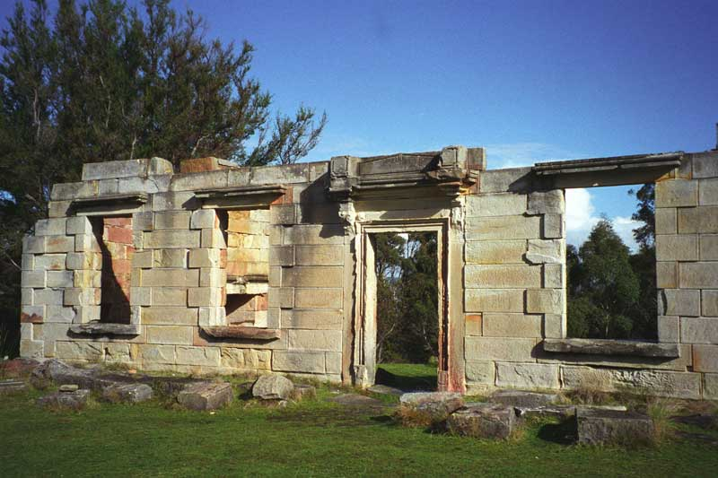 Saltwater River convict out-station settlement ruins