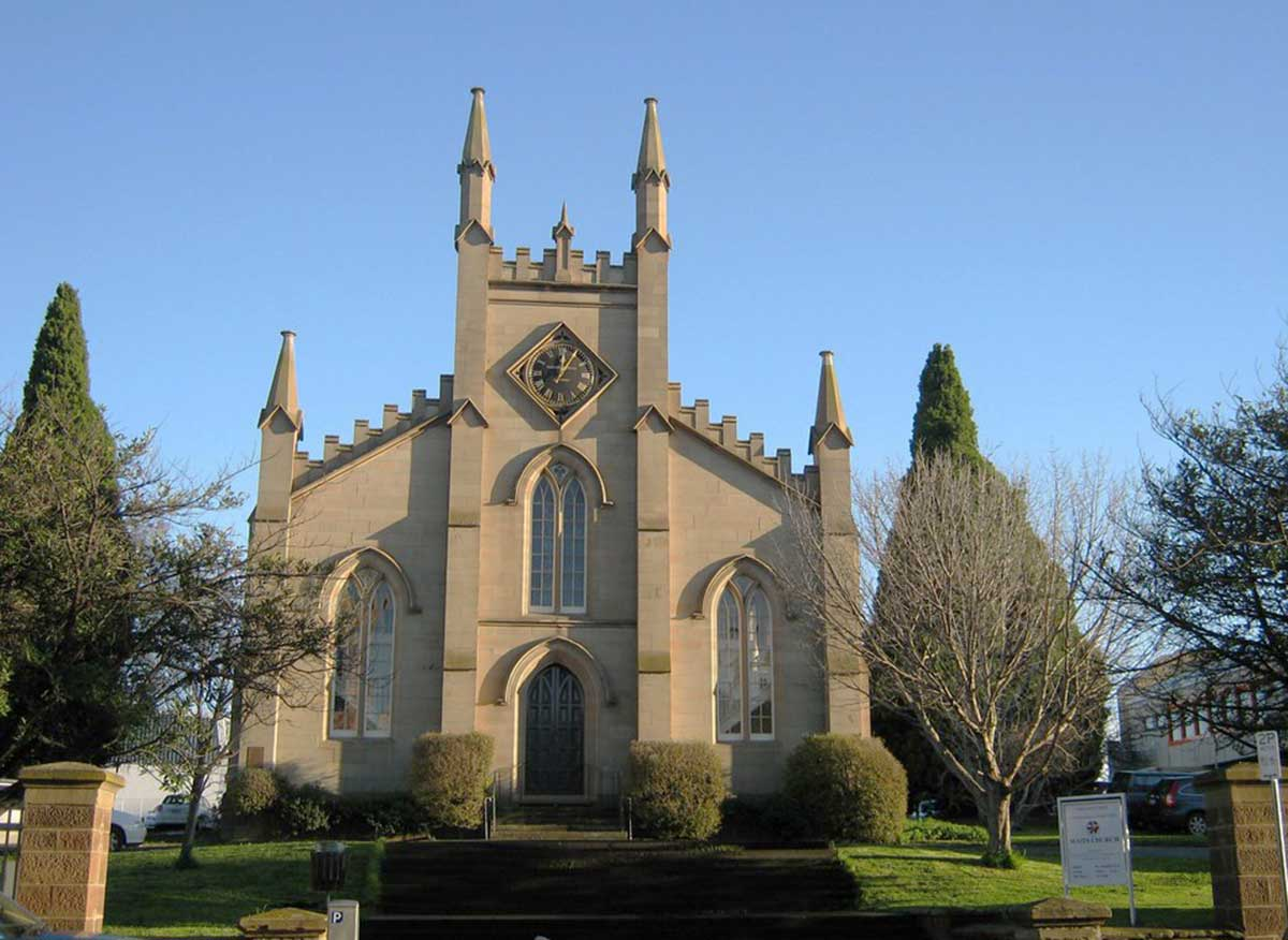 Tasmania: Historic Churches and Church Architecture